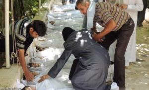 الهجوم الكيميائي على سوريا