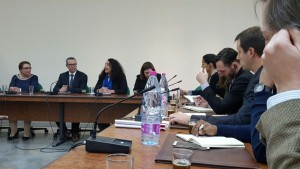 CIHRS meeting with Tunisian officials 2016